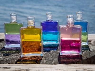 Aura Soma flasker