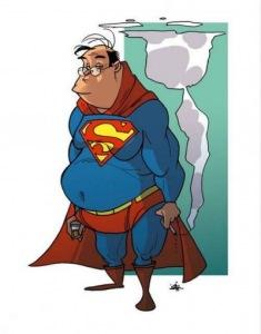 din helt egen superhelt.