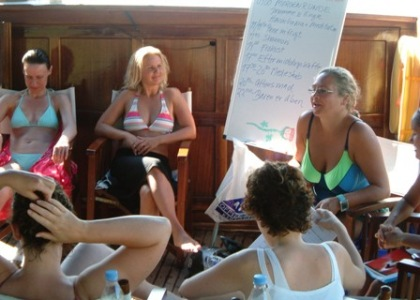Kursusferie og krydstogt i den tyrkiske skærgård