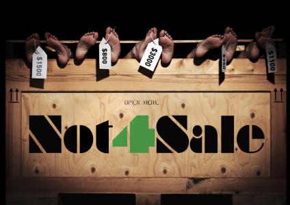 Mennesker IKKE til salg! Not4Sale arrangementet d 12. november arrangeret af People4People
