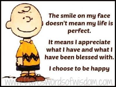 Lykkelig vælger jeg at være