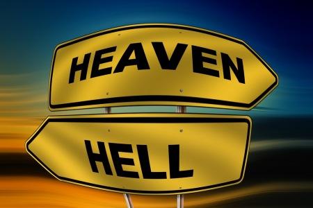 Himmel og helvede
