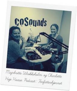 Samtale med Majbritte Ulrikkeholm i podcasten Forfatterhjørnet.