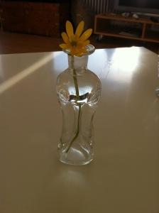 Blomst i vase