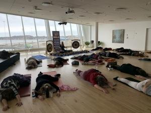 Gong, yoga og klangbad med Anne Viese