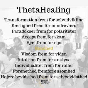 ThetaHealing kursus/uddannelse - Snekkersten